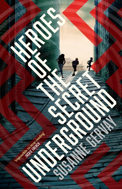 Cover of the 'Heroes of the Secret Underground'