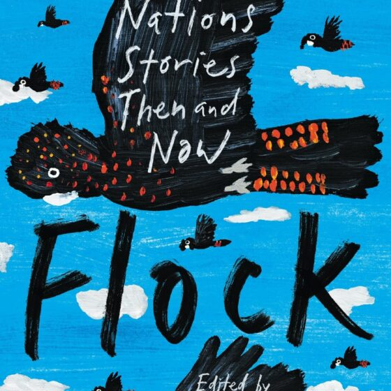 Cover of Flock: First Nations Stories Then and Now edited by Ellen van Neerven