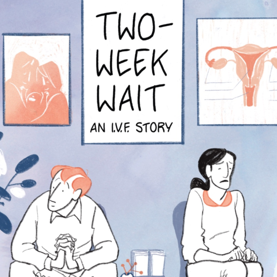 over of Two-Week Wait by Luke C. Jackson and Kelly Jackson. Illustrated by Mara Wild.