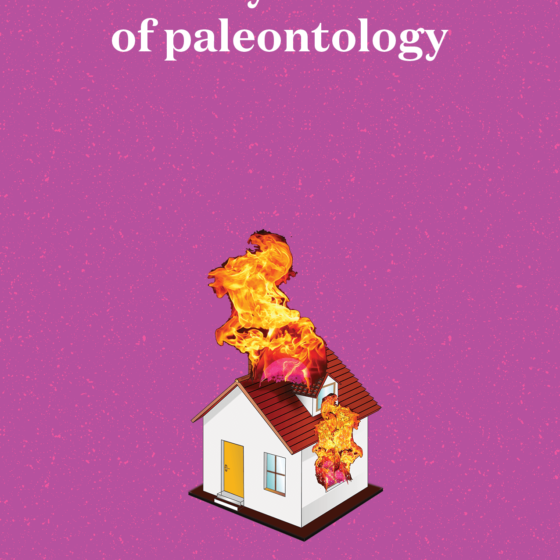 The cover for the book 'Sexy Tales of Paleontology' by Patrick Lenton