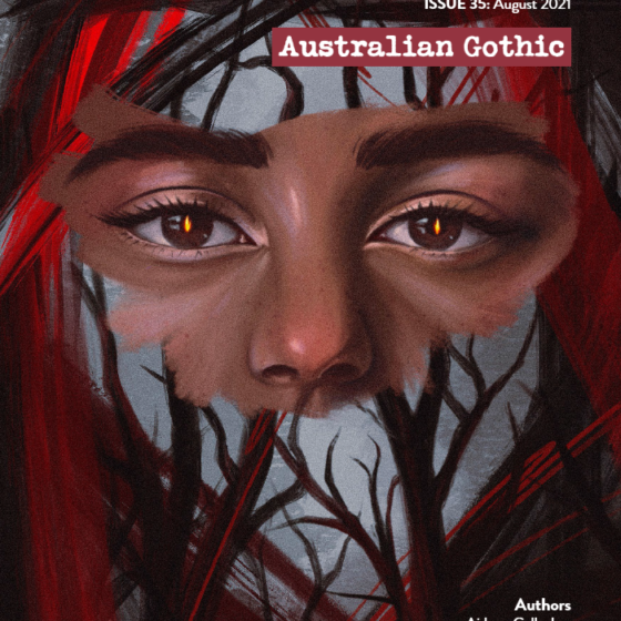 Front cover art for Underground Writers issue 35: Australian Gothic