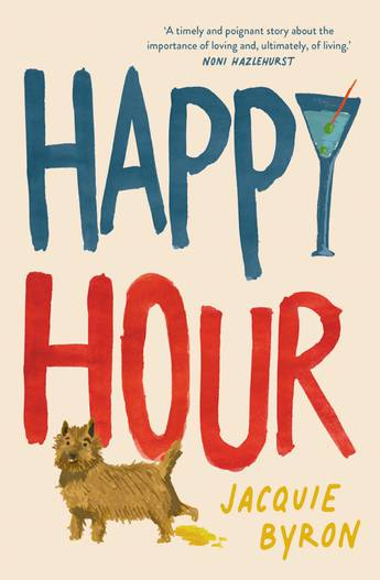 The cover of the book Happy Hour by Jacquie Byron